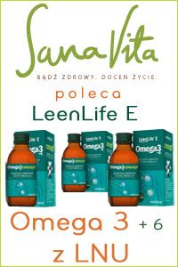 SanaVita poleca omega 3 6 LeenLife E